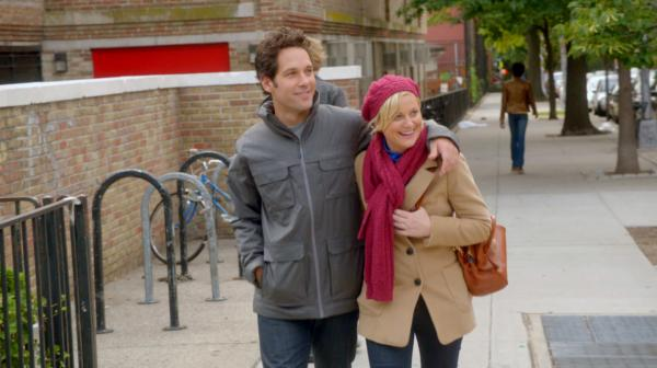 Paul Rudd and Amy Poehler in They Came Together