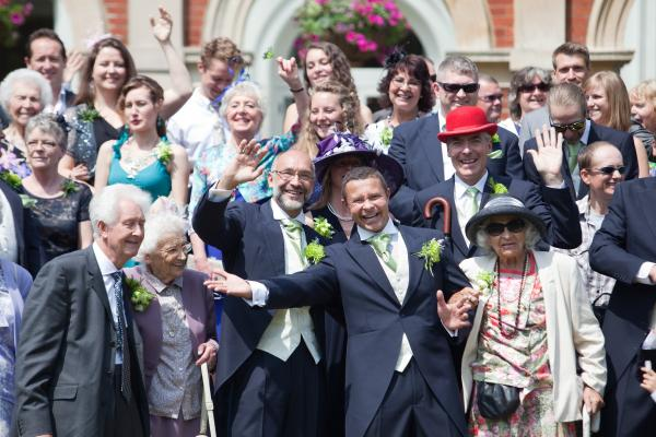 First male same-sex marriage in Bromley makes history
