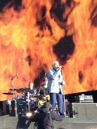 Sir Tom Jones lit up the main stage at British Summer Time in Hyde Park