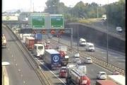 Crash causes chaos at the Dartford Crossing