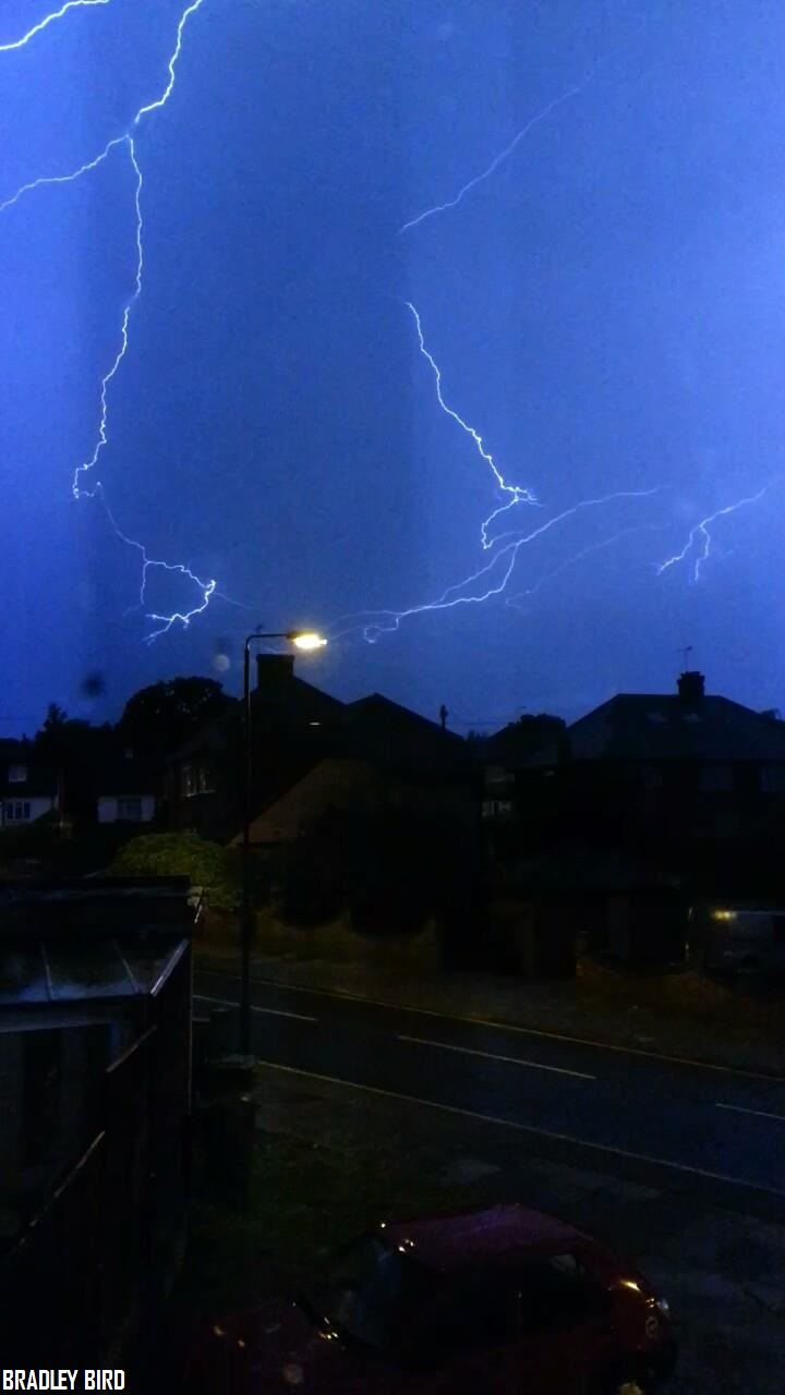 News Shopper: Lightening storm photos