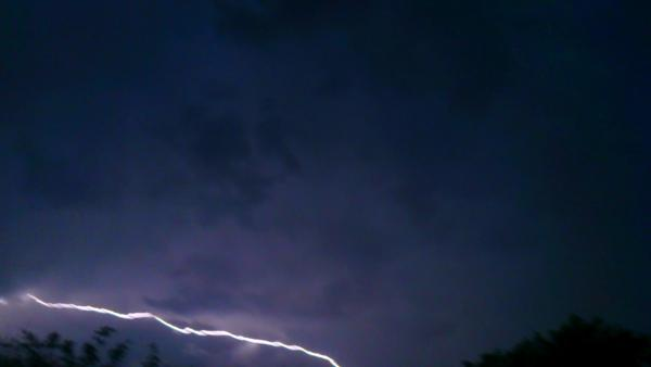 News Shopper: lightning over biggin hill 18/7