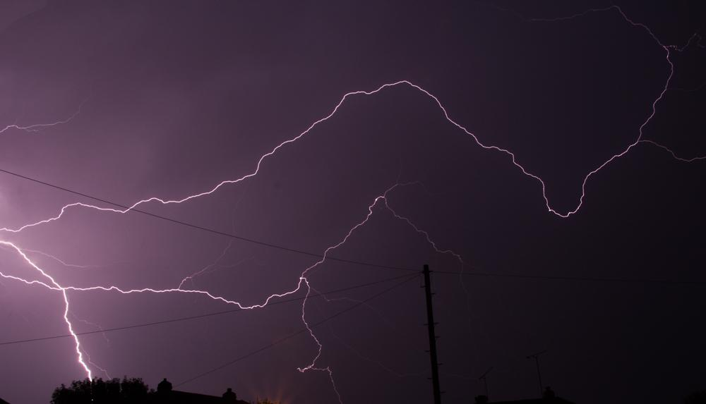 News Shopper: Swanley lightning