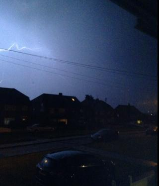 News Shopper: Bexleyheath lightning
