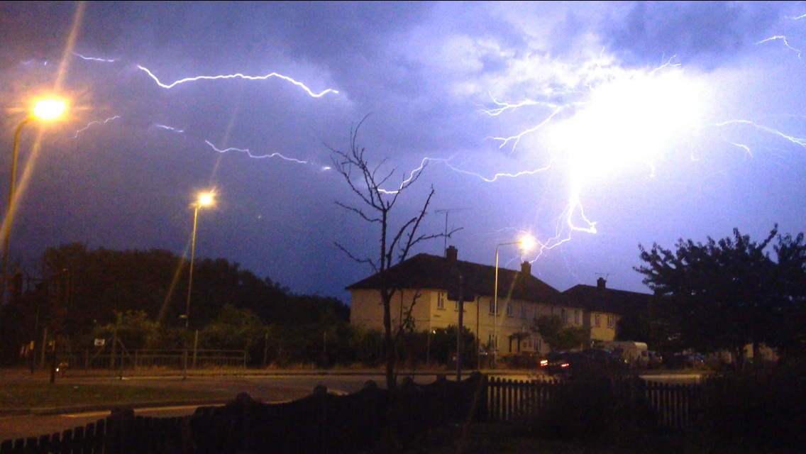 News Shopper: Friday night lightning