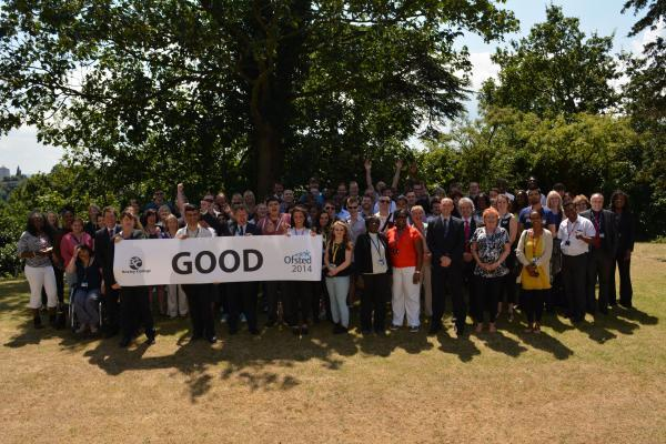 Bexley College celebrate best ever Ofsted rating