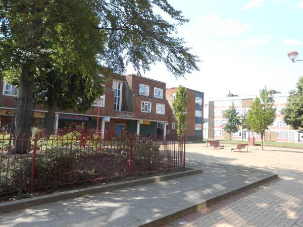 Temple Hill Square in Dartford.