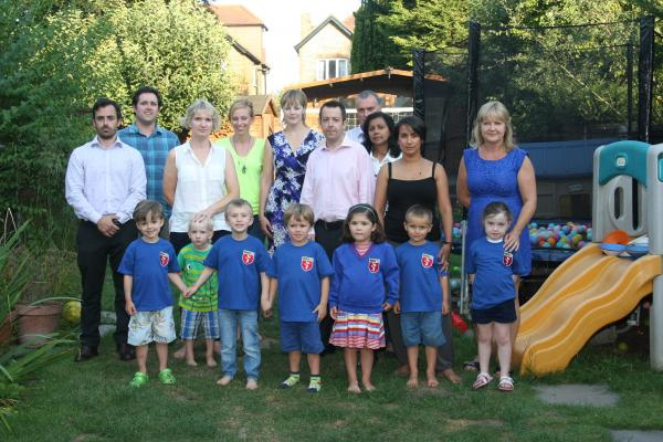 Parents and their children who were hoping to attend Harris Primary Academy in Beckenham