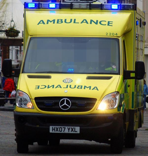 Man seriously injured after collision in Downham between motorcyclist and pedestrian