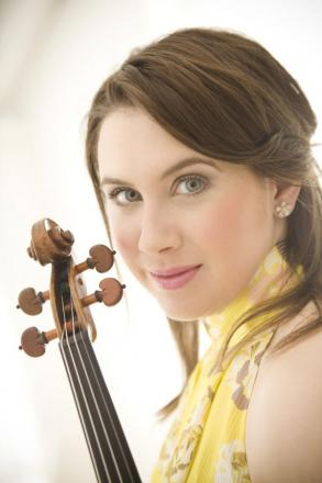 Classical music prodigy Chloe Hanslip to join Kent's young musicians in concert