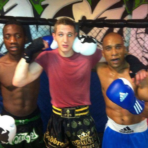 Erith gym holds white collar boxing night in memory of Tommy Main