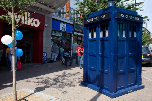 PICTURES: Dr Who in Bromley: Comic book store celebrates 25 years of science fiction fun