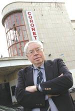 John Towey, Chairman of the Eltham Society at the Coronet in 2004
