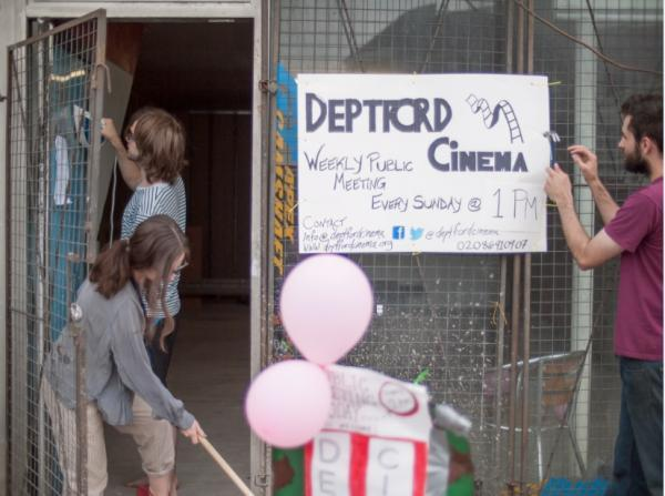 The group have secured a site for the cinema but need help from the locals