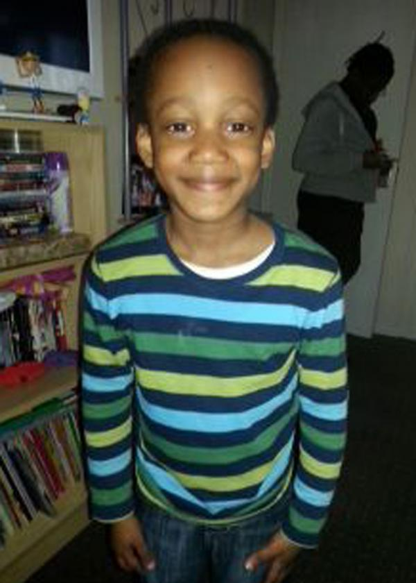 Tributes to 6-year-old David Williams, killed on Thamesmead road