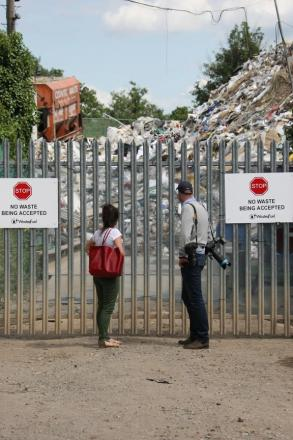 The Waste4Fuel site in St Paul's Cray is now considered abandoned
