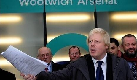 Commuters have petitioned to Boris Johnson move Woolwich Arsenal from Zone 4 to 3