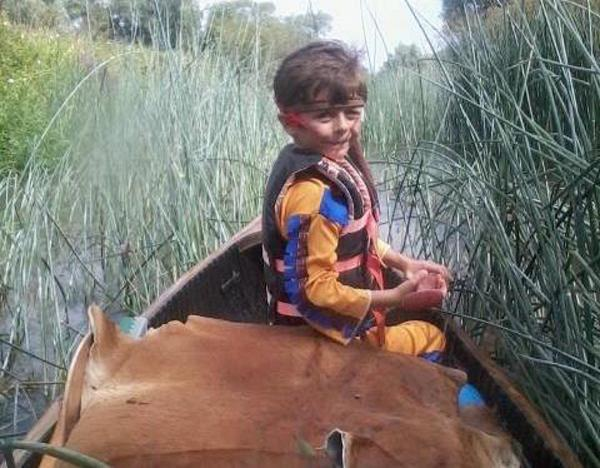 West Kingsdown youngster, 7, canoes Thames to raise funds for hospice
