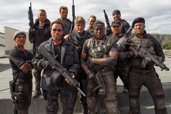 Sydenham's Jason Statham joins Stallone and Snipes to discuss The Expendables 3 in London