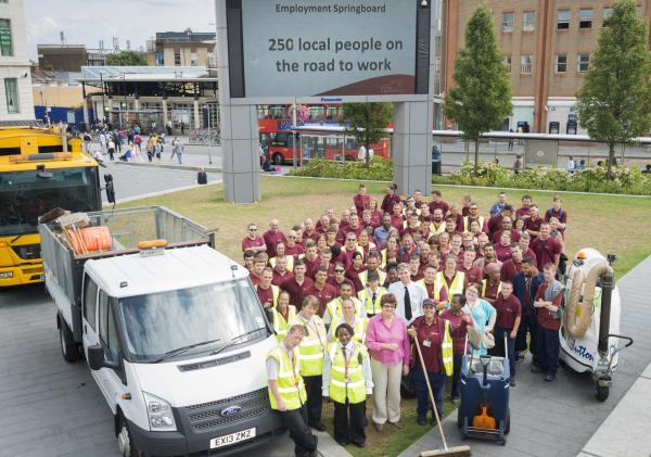 Greenwich Council celebrates 250th job placement from employment scheme