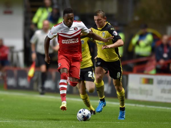 Callum Harriott's late surge of goals kept Charlton up last season but already he has been the victim of online criticism. Picture by Keith Gillard.