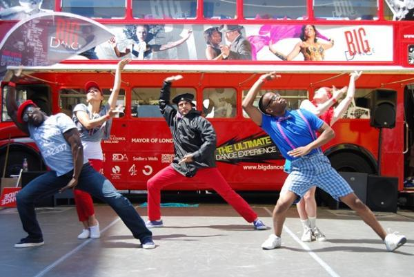 Big Dance Bus wheeling its way to Sidcup