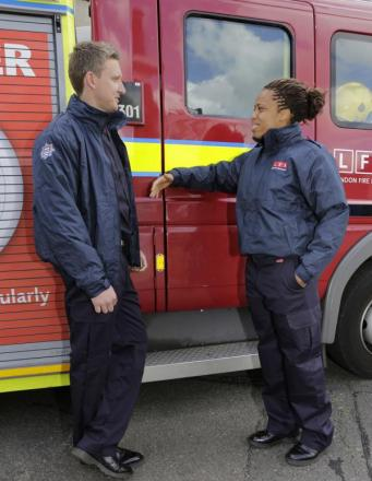 New kit for south-east London fire crews