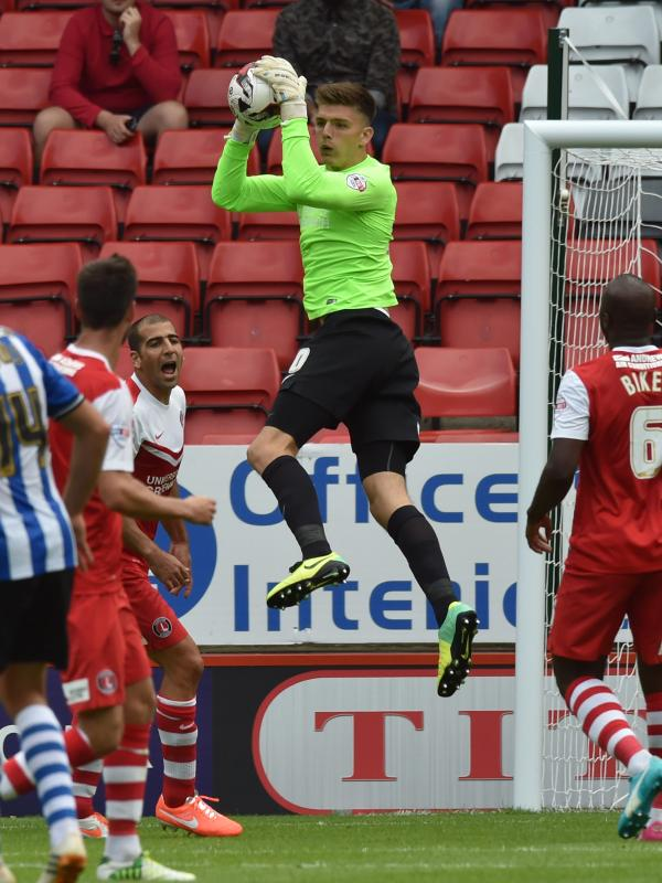 Addicks stopper Nick Pope. Picture by Keith Gillard.