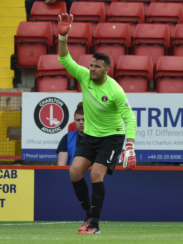 Keeper Stephen Henderson (above) could travel to Brighton after training with the squad today. Picture by Keith Gillard.