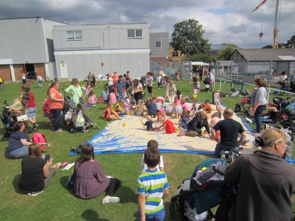 PICTURED: Playday run by Danson Youth Centre