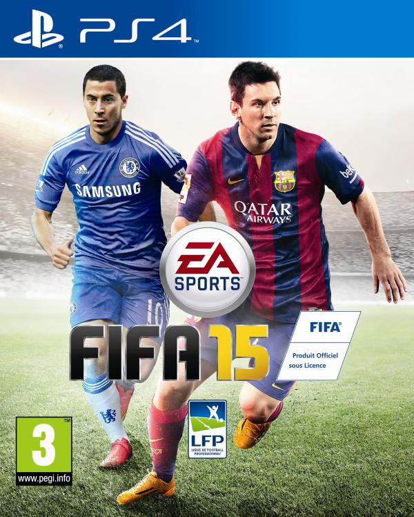 Millwall, Palace and Charlton snubbed as EA chooses Hazard and Messi for FIFA 15 cover