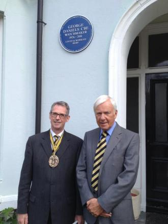 Jonathan Betts MBE, left, and David Newman