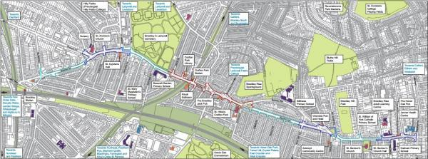 The Brockley Corridor is to undergo improvements