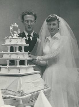 Cycling couple from Orpington pedal to 60 years of marriage