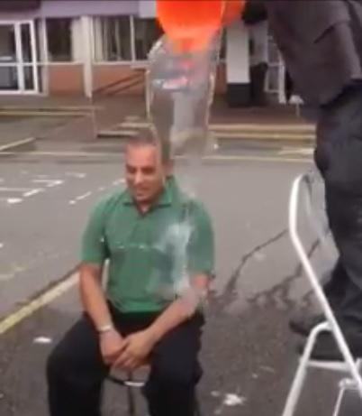 Dartford mayor takes on ice-bucket challenge