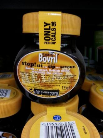 This Bovril, being sold yesterday in Bexleyheath Asda, expired in April 2012