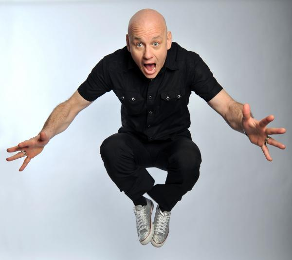Comedian Terry Alderton talks about his return to Greenwich comedy festival, starring in EastEnders and people heckling his feet