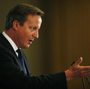 Prime Minister David Cameron will urge fellow European leaders to ratchet up the pressure on Russia o