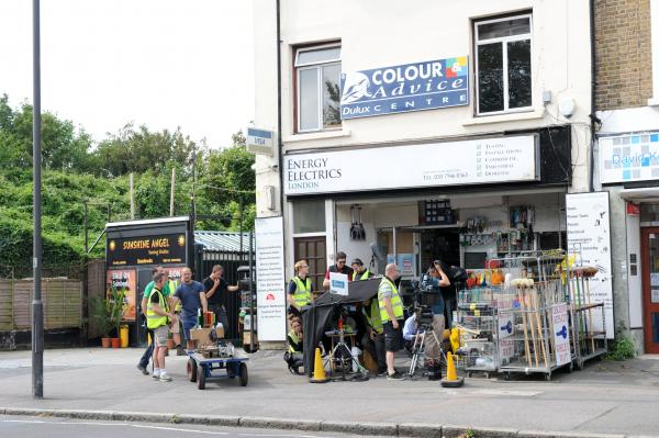 BBC filming in Lewisham causes a stir among residents