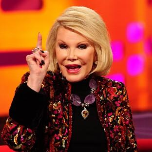 Comedian Joan Rivers, who has died