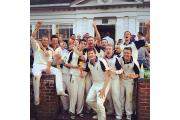 PARTY TIME: The Sevenoaks Vine squad celebrate their title success
