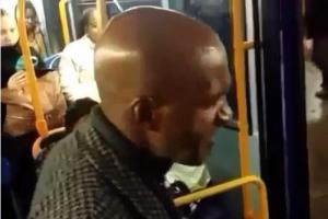 VIDEO: Catford's Fritz jailed for 'I will shoot you bloodclart' bus rant