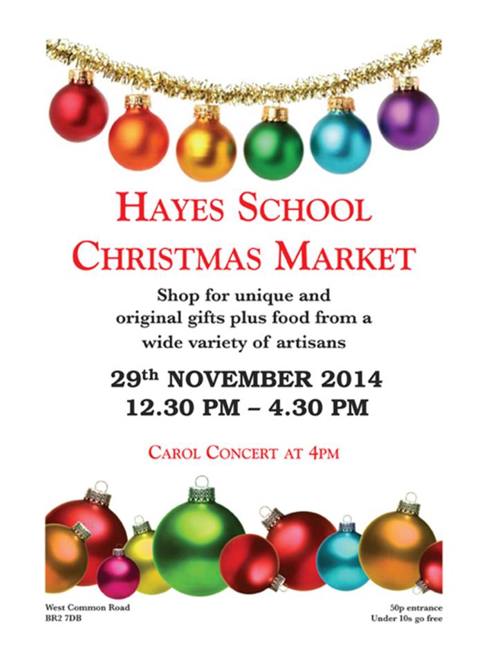 Bromley Christmas event 2014 - Hayes Christmas market