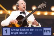 Always Look on the Bright Side of Life by Eric Idle is the most requested song at funerals