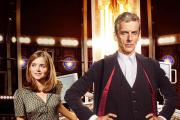 Jenna Coleman and Peter Capaldi star in Doctor Who. Picture courtesy of PA Photo/BBC/Ray Burmiston