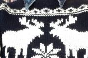 Do you have a Christmas jumper more stylish than this one worn by Alan Woods