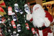 Santa with Bluewater's charity Giving Tree