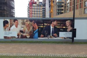 "Developers criticised for advertising showing ""only white faces"""