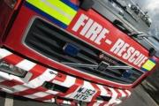 Four fire engines called to the scene of Abbey Wood fire