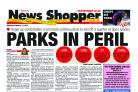 The News Shopper's front page of February 11